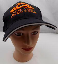 Orange County Choppers Hat Black Stitched Adjustable Baseball Cap Pre-owned St74