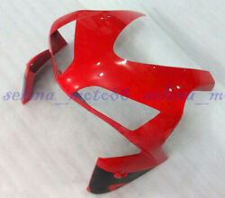 Head Front Cowl Nose Fairing Fit For Honda Cbr600rr 2003-2004 F5 Red Injection
