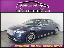 2017 Lincoln Continental Select V6 EcoBoost FWD 2017 Lincoln Continental Select V6 EcoBoost FWD