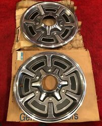 1973 - 1987 Original Gm Chevy Truck 15 Nos Hubcaps K10 Wheel Covers Half Ton