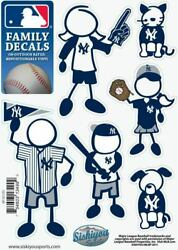 New York Yankees Outdoor Rated Vinyl Family Decals MLB Licensed Baseball