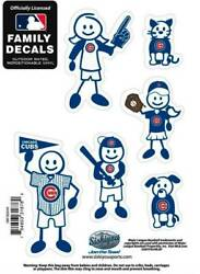 Chicago Cubs Outdoor Rated Vinyl Family Decals MLB Licensed Baseball