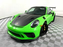 2019 Porsche 911 GT3 RS Weissach 2019 Porsche 911 GT3 RS Weissach 817 Miles Green COUPE 2-DR 6 Cylinder Automatic