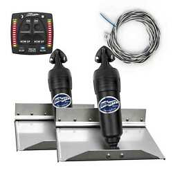 Bennett Complete Kit Bolt Electric Trim Tab With Integrated Helm Control 12x9