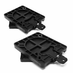 Marine Boat Quick-release Seat Swivel Mount Removable Bracket Pair Fo-3891-m2