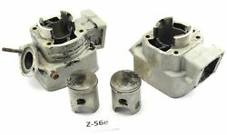 Yamaha Rd 250 Lc 4l1 Bj.81 - Cylinder Right + Left + Piston