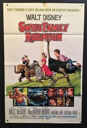 Swiss Family Robinson Movie Poster Mills Mcguire Macarthur Hollywood Posters