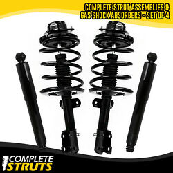1995-2000 Plymouth Voyager Front Complete Strut And Rear Shock Absorber Bundle