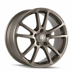 18'' x8 Touren TF03 Gray 5x4.5 40 ET 3503-8865G40 Rims Wheels