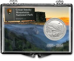 Lot Of Five Great Smokey Mountains National Park Quarter Coin Gift Displays