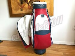 Terrida Atleta Collection Made In Italy Leather Golf Bag Brand New With Tags