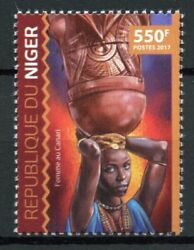 Niger Cultures And Traditions Stamps 2017 Mnh Canary Woman Ethnicities 1v Set