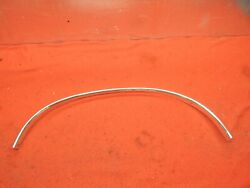 Nos 68 69 Ford Fairlane 500 Lh Front Fender Wheel Opening Moulding C9oz-16038-a