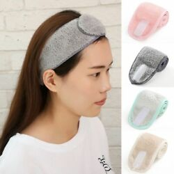 Adjustable Face Wash Hair Band Facial Toweling Bath Headband Salon Accessories