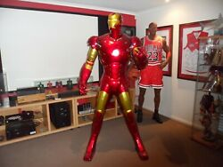 LIFE SIZE IRON MAN STATUEACTION FIGURE