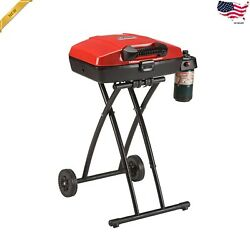 Portable Outdoor Folding Gas Grill Propane Durable Camping Patio Picnic Cooking