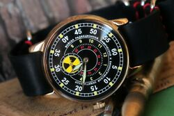 Vintage Mens Watches Pobeda ☢️radiation Troops ☢ Mechanical Military Watch /gift