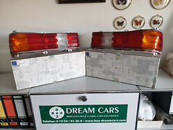 New Nos Genuine Mercedes-benz W123 C123 Combined Taillights L+r Us Specs Oem Nla