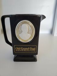 Vintage Old Grand Dad Kentucky Bourbon Whiskey Pitcher