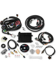 Holley Engine Management Hp Ecu And Harness Kit For Ford Multi-point Efi550-606n