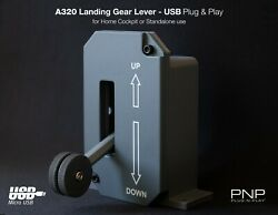 Airbus A320 330 340 Landing Gear Lever Usb Plug And Play For Flight Simulator