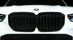 Bmw Genuine G05 X5 Shadowline Gloss Black Front Grille And Exhaust Tips Black