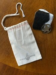 Limited Edition Seamus Forge Golf Ball Marker W/cow Leather Pouch