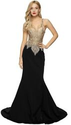 NEW DESIGNER PROM PARTY GOWN SPECIAL OCCASION EVENING PAGEANT FORMAL LONG DRESS