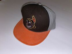 Cleveland Indians Fitted 7 3/8 Hat Cooperstown Chief Wahoo Cap American Needle