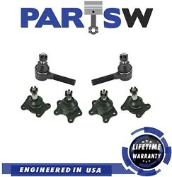 New Upper Lower Ball Joints Outer Tie Rod Kit For Toyota 4runner T100 Pickup 4wd