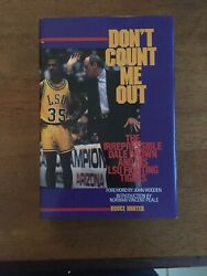 Don't Count Me Out 1st Edition Bruce Hunter 1989 Dale Brown LSU