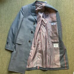 Rare Grey Sport Coat Thom Browne Made In Japan New Without Tag Size 1