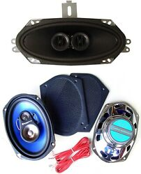 67-68 Firebird Stereo Dash Replacement Speaker + 6x9's  Fits Non Factory Ac Car