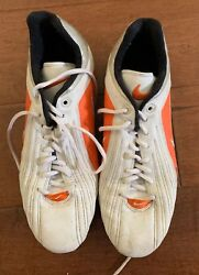 Sam Simmons Miami Dolphins Nfl Game Worn Used Nike Cleats Shoes Coa