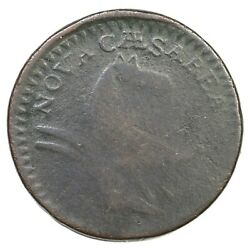 1787 6-c R-5 Pattern Reverse New Jersey Colonial Copper Coin