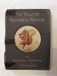 1903 Squirrel Nutkin Beatrix Potter First Edition Primary Run