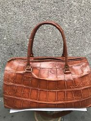 Alligator Duffle Bag Org 6000 Now 1750 60-75 Off Clearance Sale