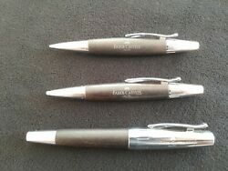 Unique Wooden Set Of 3 From Faber Castell