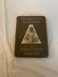 The Tailor Of Gloucester By Beatrix Potter Made In 1913 In Fair Condition