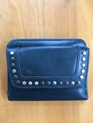 Hobo Wallet With Brass Studs $64.00