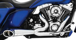 Freedom Hd00508 2-into-1 Turnouts Harley Flh Touring 1995-2016