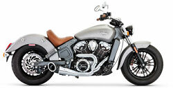 Freedom In00078 Scout Turnout 2-into-1 Exhaust Indian Scout 2015-2019