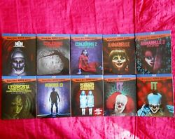 Blu Ray Horror Collection Rare Complete Series The Nun The Exorcist It Shining