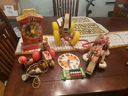 Vintage 1964 Toys And Hobbies Preschool Toys And Pretend Play Fisher-price Lot