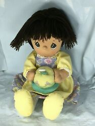 March Birthday Precious Moments Pal Doll Girl 10 Plush With Cake Free Shipping