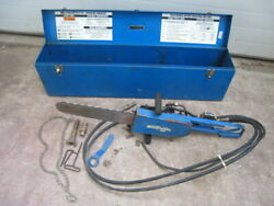 Rgc Reimann And Georger Concrete Chainsaw C-150 C-150-8 15in Bar Hydracutter Saw