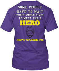 Police Mans Daughter - Officers Some People Have To Wait Premium Tee T-shirt