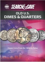 Whitman Search And Save Old Us Dimes And Quarters Classic Coins From 1800s Album New
