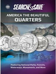 Whitman Search And Save America The Beautiful Quarters Coins Album Safe Storage