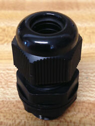 500 3/4 Inch Npt - Strain Relief Cord Grip Cable Gland With Gasket And Nut - New